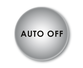 Automatic switch off after 40 minutes