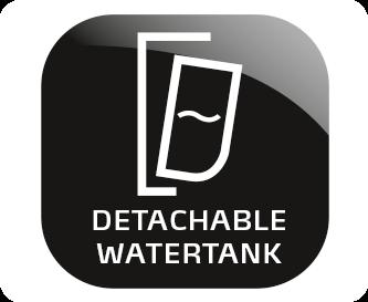 Vyjímatelný zásobník na vodu