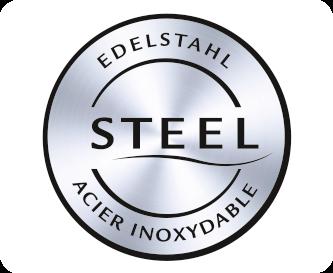 Elegantní prvky z nerezové oceli
